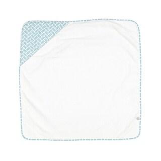 Shop Clevamama Hooded Apron Bath Towel In Cream Free