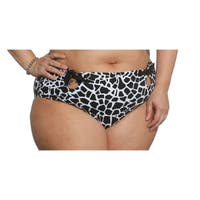 Sun and Sea Curvy Retro High Waisted Bikini Bottom