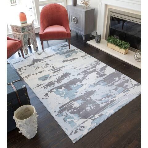 CosmoLiving Modern Camo rug