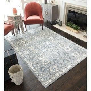 CosmoLiving Peony rug