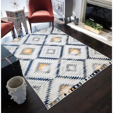 CosmoLiving Golden Girl rug
