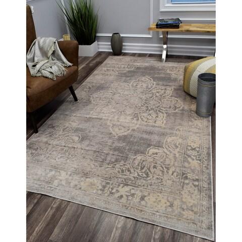 CosmoLiving Lotus rug