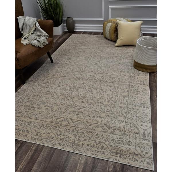 CosmoLiving Morning Dew rug