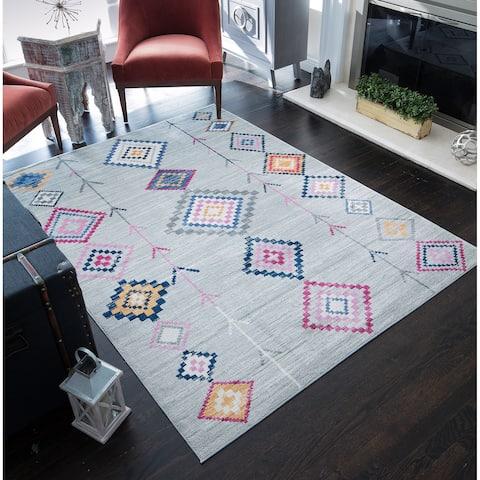 CosmoLiving Tribal Zen rug