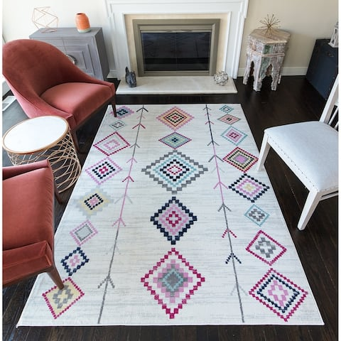 CosmoLiving Native Boho rug