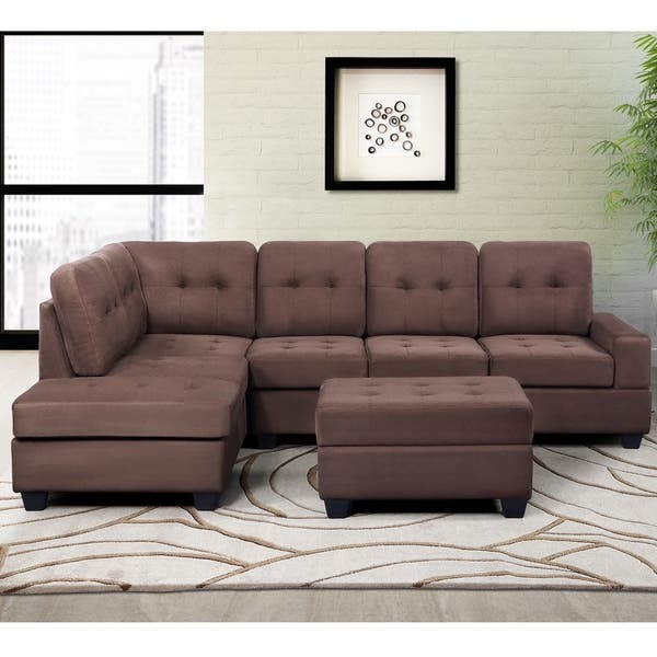 Shop Harper & Bright Designs 3 Piece Sectional Sofa ...