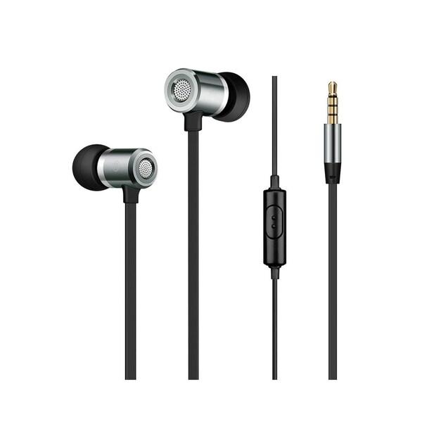 Shop Insten Alloy Metal Stereo Headset In-Ear Earphone with