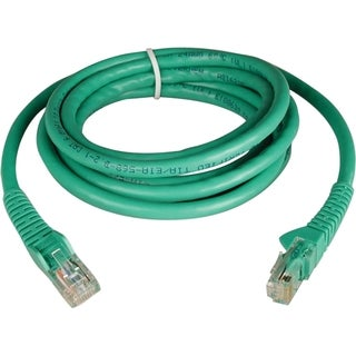 Tripp Lite 7ft Cat6 Gigabit Snagless Molded Patch Cable RJ45 M/M Gree
