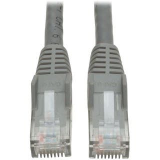 Tripp Lite 7ft Cat6 Gigabit Snagless Molded Patch Cable RJ45 M/M Gray https://ak1.ostkcdn.com/images/products/2643431/P10846818.jpg?impolicy=medium