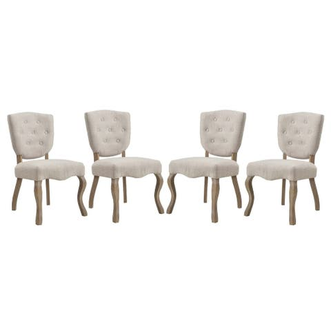 Array French Dining Side Chairs (Set of 4)