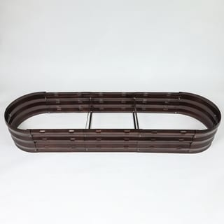 Link to Metal Oval Garden Bed Similar Items in Raised Beds