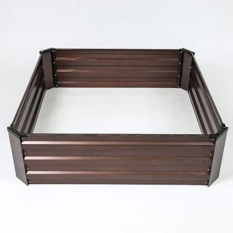 Metal Square Garden Bed
