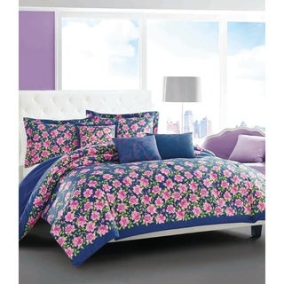Betsey Johnson Rose Garden Bonus Comforter Set