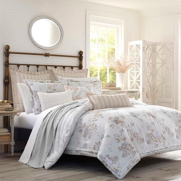 Laura Ashley Lorene Floral Comforter Set