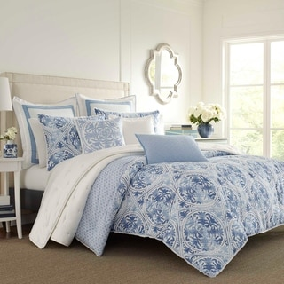 Link to Laura Ashley Mila Duvet Cover Set Similar Items in As Is