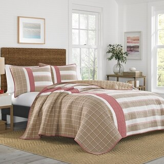 Nautica Crimstead Cotton Quilt Set