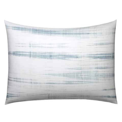 Vera Wang Marble Shibori Blue Duvet Cover