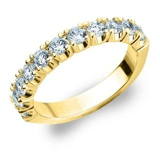 1CT 4 Prong Set Lab Grown Diamond Ring E F VS Clarity