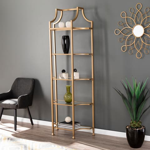 Silver Orchid Price Tall Etagere
