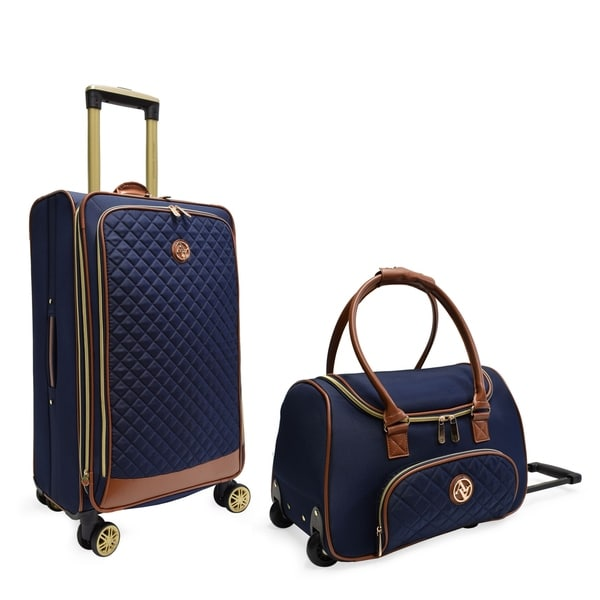 5d986ccb5 Adrienne Vittadini Quilted Collection 2 Piece Luggage Set - 2 piece set