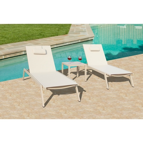 Incredible Carina 3 Pc Chaise Lounge Set Granola Home Interior And Landscaping Ponolsignezvosmurscom