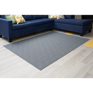 "Mats Inc. Mattisimo All Weather Area Rug, 6'5"" x 5', Seth Blue - 4'11"" x 6'6"""