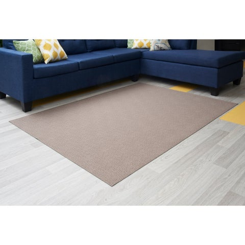 "Mats Inc. Mattisimo All Weather Area Rug, 6'5"" x 5', Seth Beige - 6'5"" x 5'"