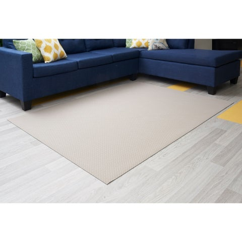 "Mats Inc. Mattisimo All Weather Area Rug, 6'5"" x 5', Osaka Beige - 6'5"" x 5'"