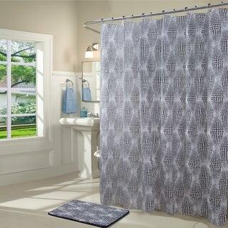 Dynasty 14-Piece Shower Curtain and Bath Mat Set
