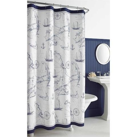 City Scene Cape Island Shower Curtains