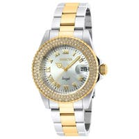 Invicta Women's Angel 20214 Stainless Steel, Gold Watch