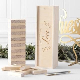 Building Love Building Block Wedding Guestbook