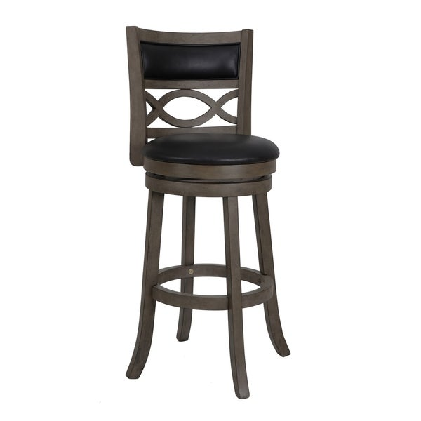 Shop Manchester Antique Grey 29-inch Bar Stool With PU