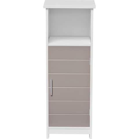Custom DIY Bath Floor Storage Cabinet-1 Door-Diamond Handle