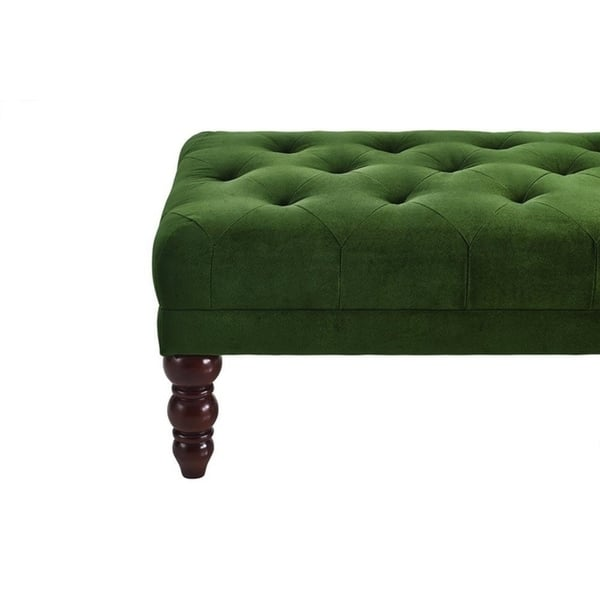 Swell Shop Novogratz Vintage Tufted Ottoman Free Shipping Today Andrewgaddart Wooden Chair Designs For Living Room Andrewgaddartcom