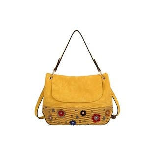 d1dd5dc8a27d2 Buy Yellow Shoulder Bags Online at Overstock