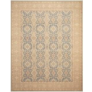 Handmade Vegetable Dye Khotan Wool Rug (Afghanistan) - 9'2 x 11'7