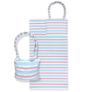 "Link to Kaufman 36"" x 70"" Fouta  SAND FREE  Beach Bag Towel. Turquoise Similar Items in Towels"