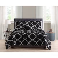 Asher Home Alexia Reversible Gatework 8-piece Bed in a Bag Set