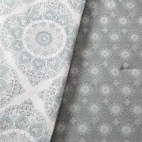 Asher Home Eveline Reversible Medallion 5-piece Comforter Set