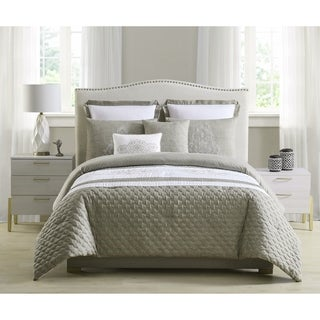 Link to Asher Home Emily Quilted and Embroidered 7-piece Comforter Set Similar Items in Comforter Sets