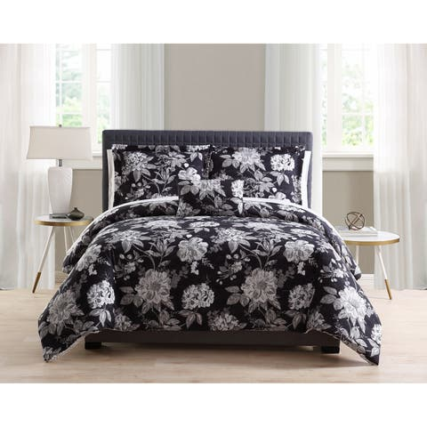 Asher Home Francis Floral 8-piece Bed in a Bag Set