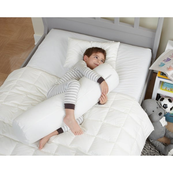 Shop Cotton Kid Body Pillow White Free Shipping On