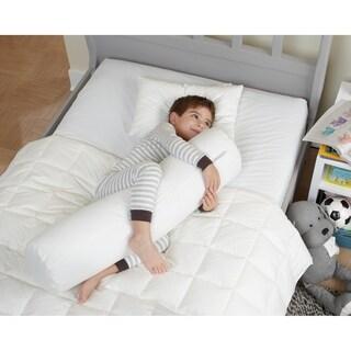 Cotton Kid Body Pillow - White