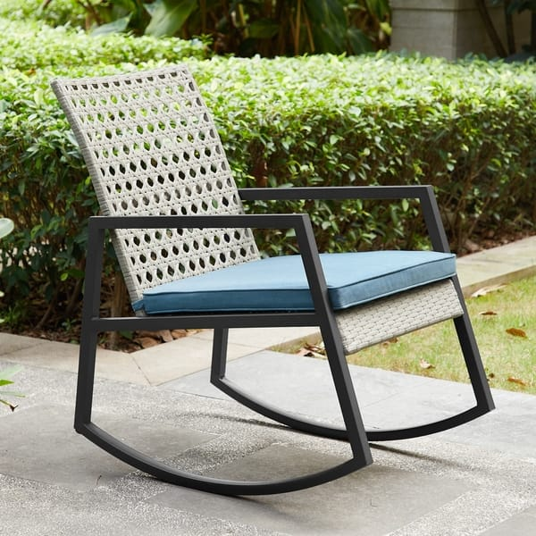 Enjoyable Shop Havenside Home Point Lay Rattan And Metal Outdoor Unemploymentrelief Wooden Chair Designs For Living Room Unemploymentrelieforg