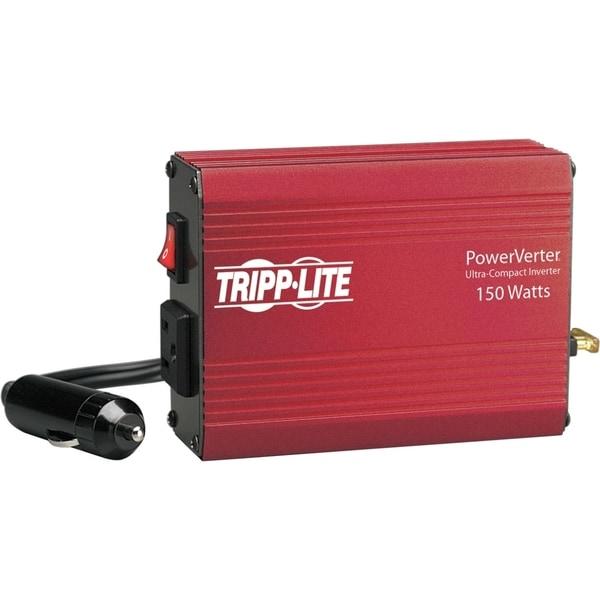 Tripp Lite Portable Auto Inverter 150W 12V DC to 120V AC 1 Outlet 5-1
