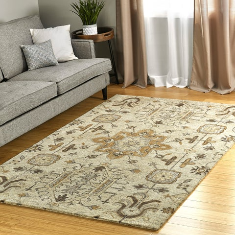 Finerie Handmade Wool Area Rug