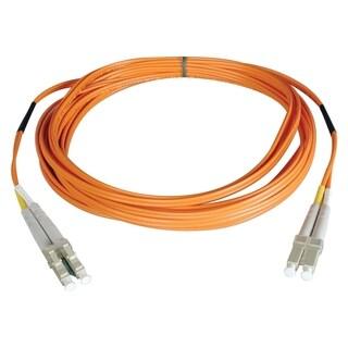 Tripp Lite 5M Duplex Multimode 62.5/125 Fiber Optic Patch Cable LC/LC