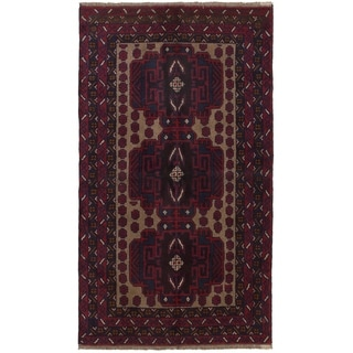 eCarpetGallery  Hand-knotted Kazak Red Wool Rug - 3'7 x 6'4