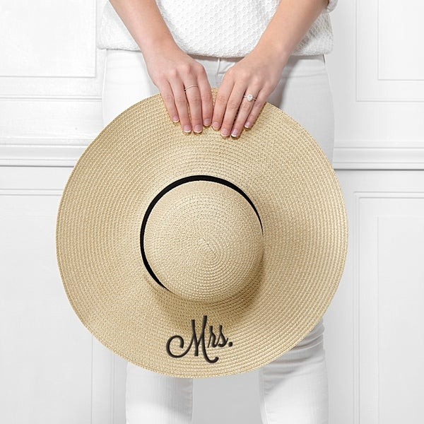 Cathy's Concepts Mrs. Natural Straw Hat